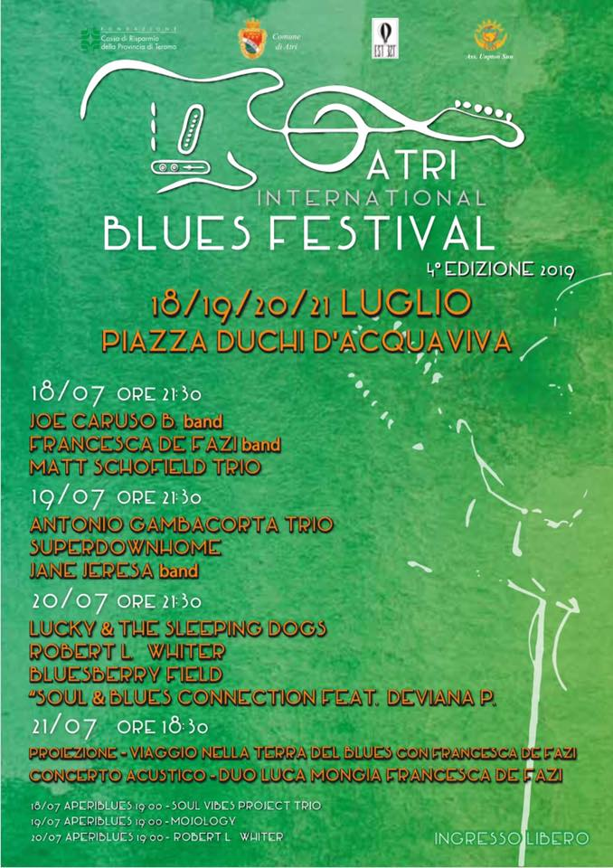 Atri International Blues Festival - IV 2019
